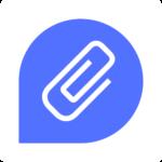 Clipsly Digital Hub Square Logo (White)
